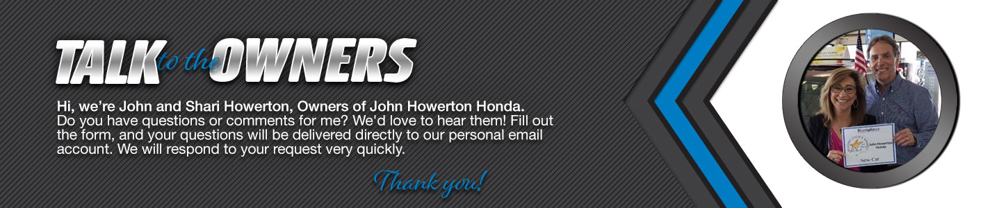 John Howerton Honda Talk to the Dealer