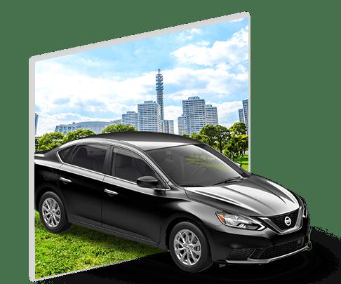 Black Nissan Car picture