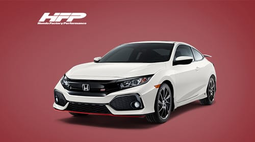 The HFP Civic Si Coupe package