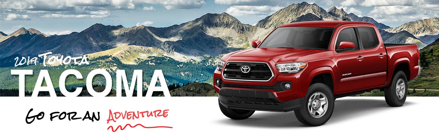 Dan Hecht Toyota 2019 Tacoma On Road