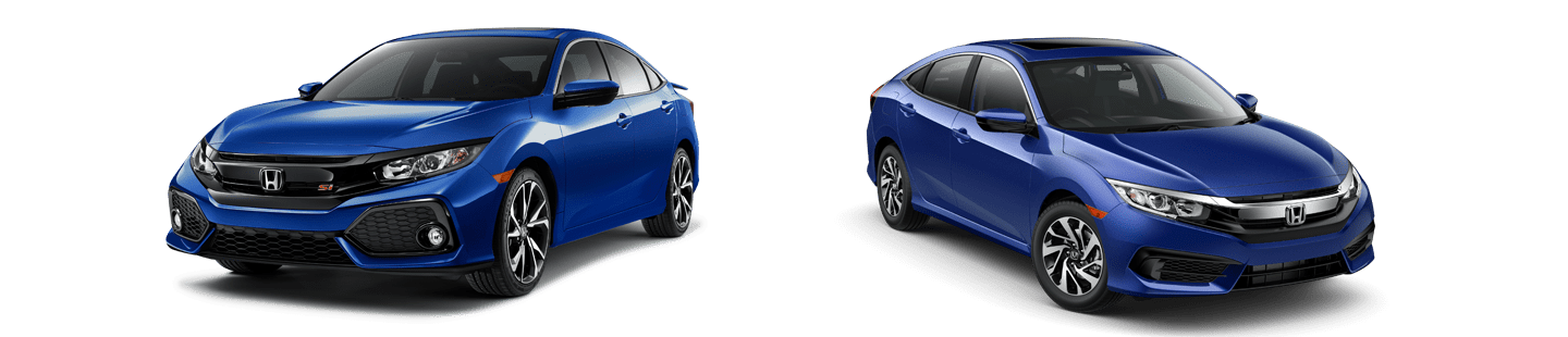 2018 Honda Civic Si Vs 2018 Honda Civic Ex What S The Difference