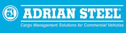 adrian steel cargo management solutions for commercial vehicles logo