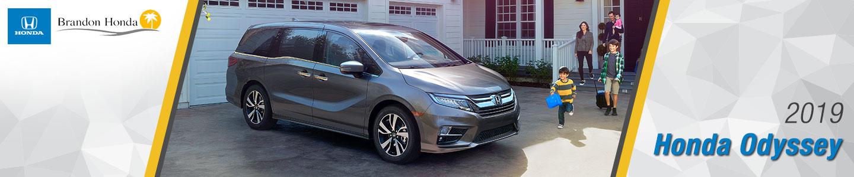 2019 Honda Odyssey Minivans For Sale at Brandon Honda in Tampa, FL