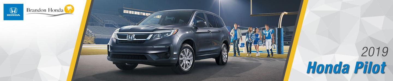 2019 Honda Pilot Mid-Size SUVs For Sale at Brandon Honda in Tampa, FL