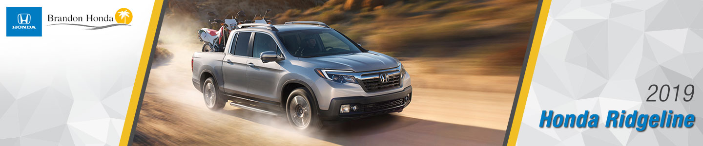 2019 Honda Ridgeline Trucks For Sale at Brandon Honda in Tampa, FL