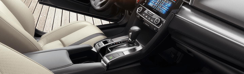 Honda Civic cabin interior