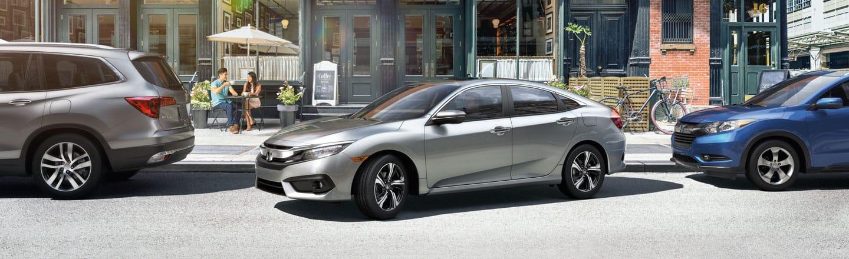 Honda Civic silver
