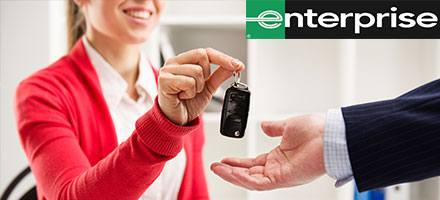 Enterprise Rental Car Now On-Site!