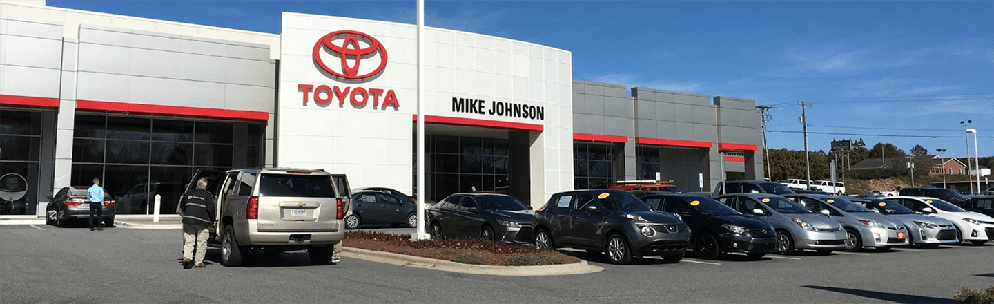 Toyota Dealer Serving Gastonia, NC