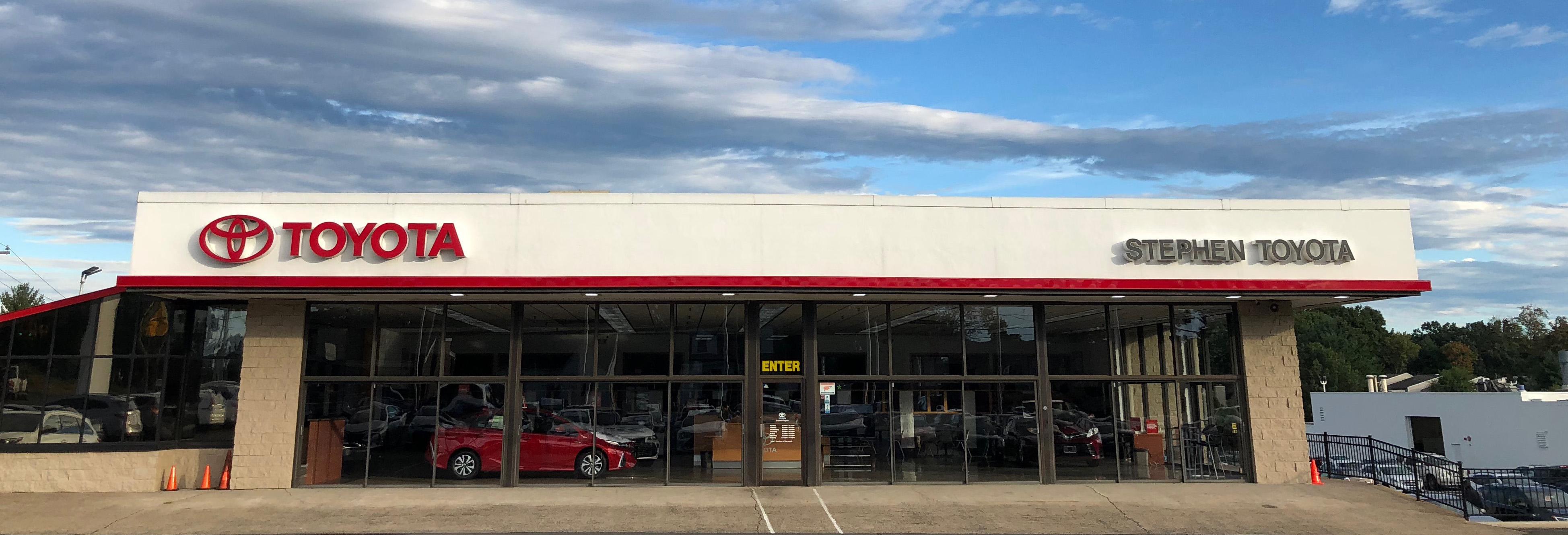 About Stephen Toyota In Bristol Connecticut Toyota Dealer Information
