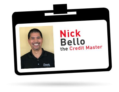 nick bello - credit master