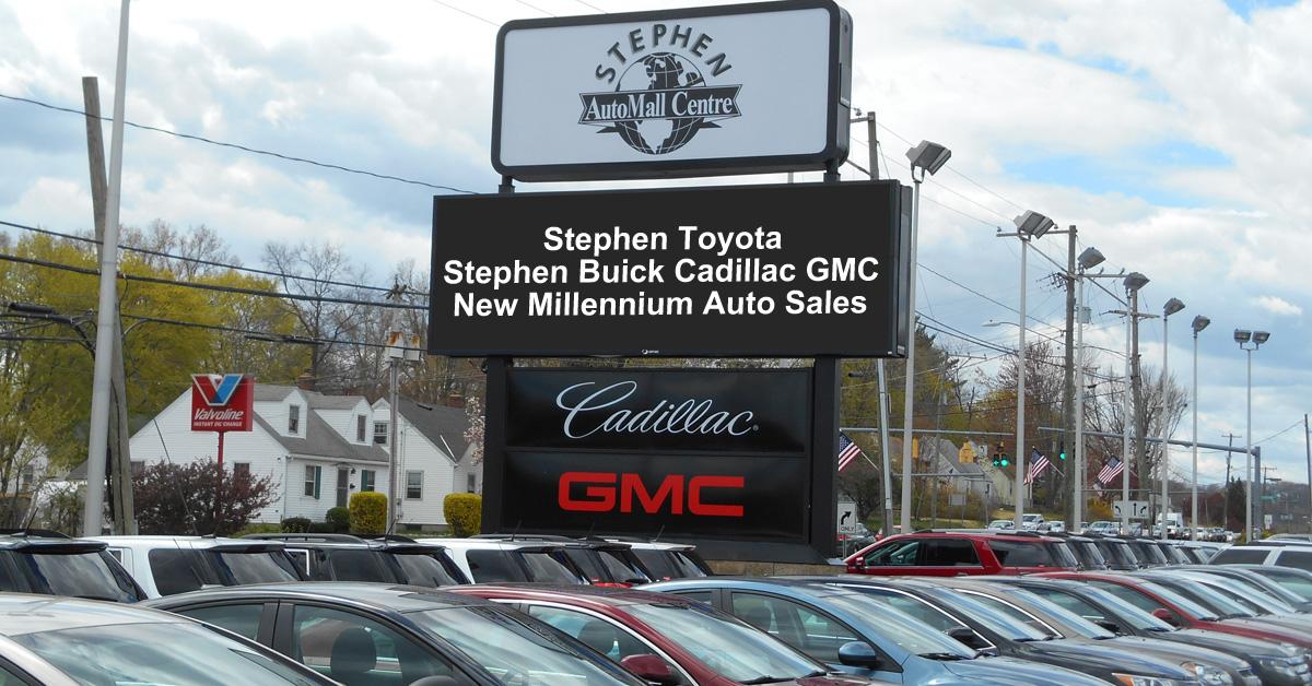 Stephen AutoMall Centre - Serving Bristol, Connecticut