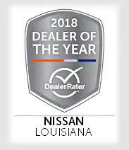 DealerRater's Dealer of the year badge