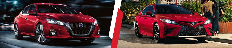 2019 Nissan Altima vs. 2019 Toyota Camry