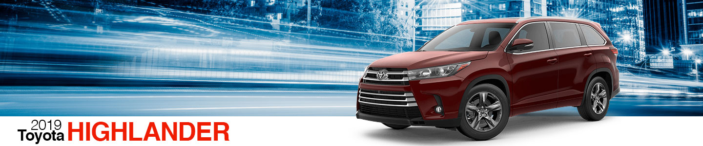2019 Toyota Highlander at Cowboy Toyota