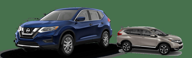 Hubler Nissan 2019 Nissan Rogue vs CR-V