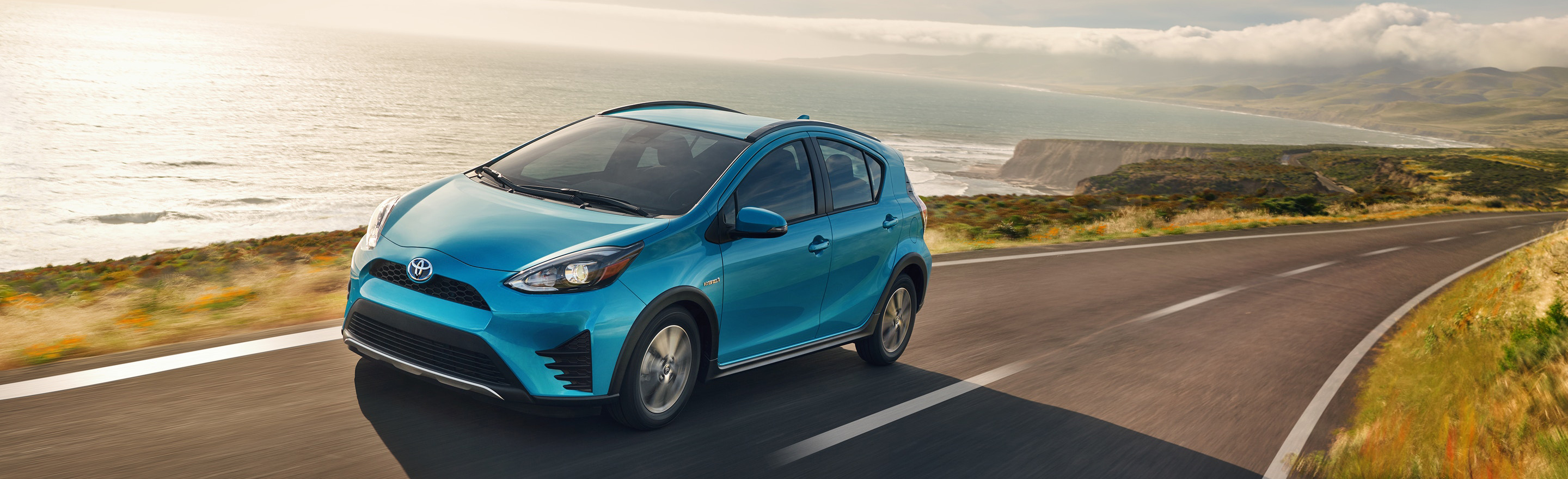 Take The Next Step In The 2019 Toyota Prius C At Ganley Toyota