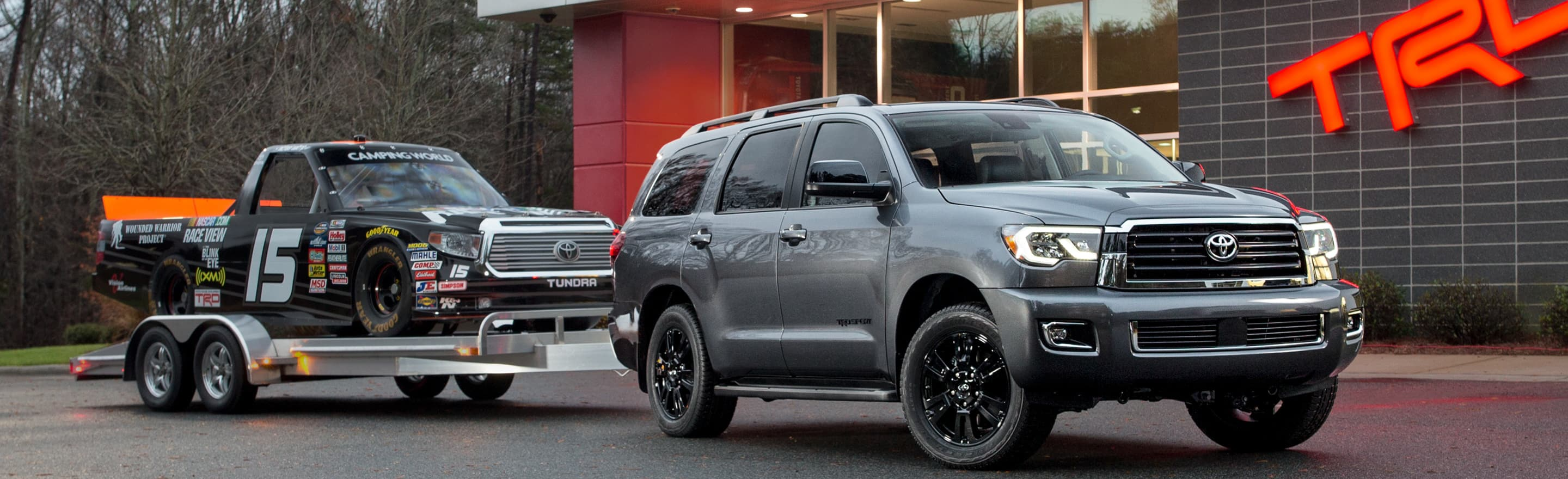 Explore The 2019 Toyota Sequoia Full-Size SUV At Ganley Toyota