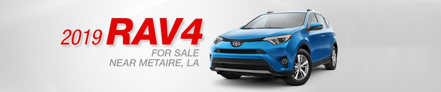 2019 Toyota RAV4 for sale in Metairie, Louisiana at Lakeside Toyota