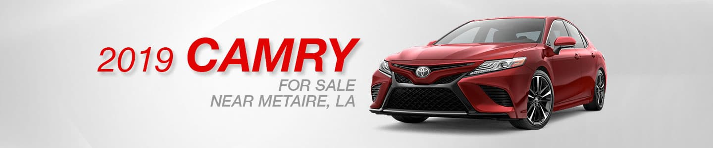 2019 Toyota Camry for sale in Metairie, Louisiana at Lakeside Toyota