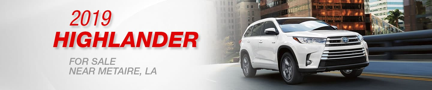 2019 Toyota Highlander for sale in Metairie, Louisiana at Lakeside Toyota