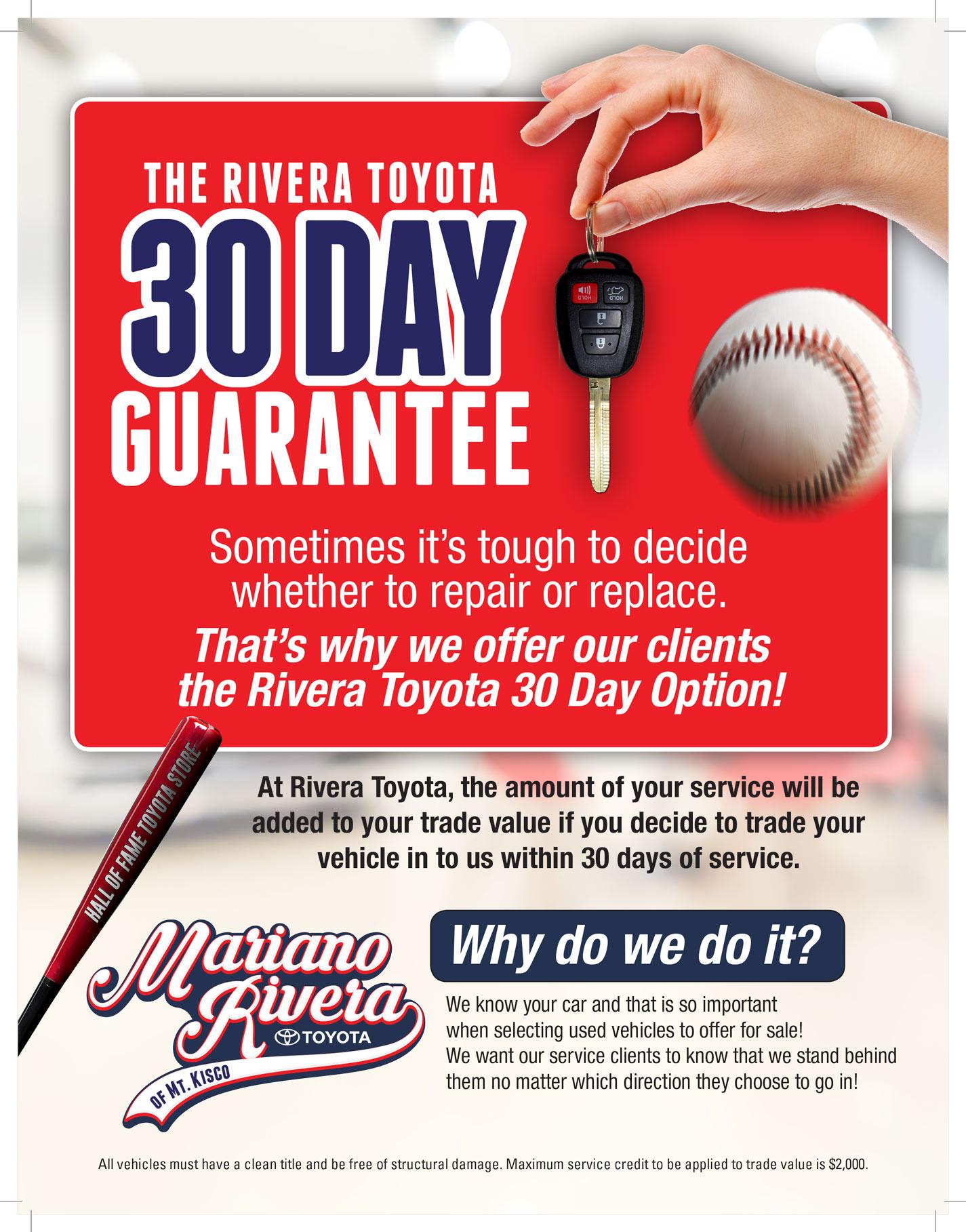 The Rivera 30 Day Challenge
