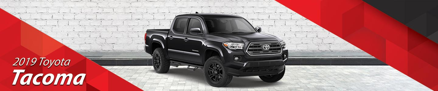 Stock Photo of 2019 Toyota Tacoma