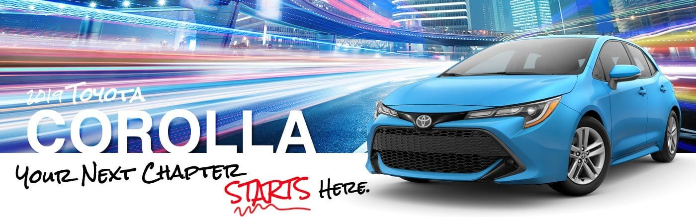 Al Hendrickson Toyota 2019 Corolla On Road