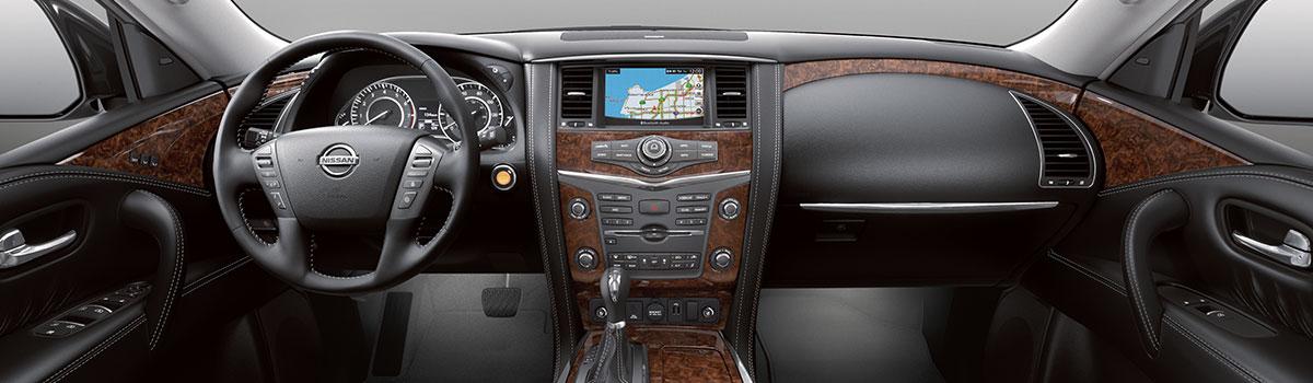 2019 Nissan Armada Interior