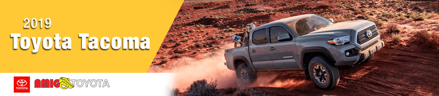2019 Toyota Tacoma Models for Gallup, NM Drivers to Explore