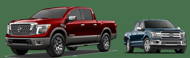 Hubler Nissan 2019 Nissan Titan vs Ford F150