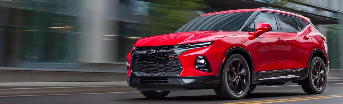 Check Out The Stylish 2019 Chevrolet Blazer In Maxie Price Chevrolet
