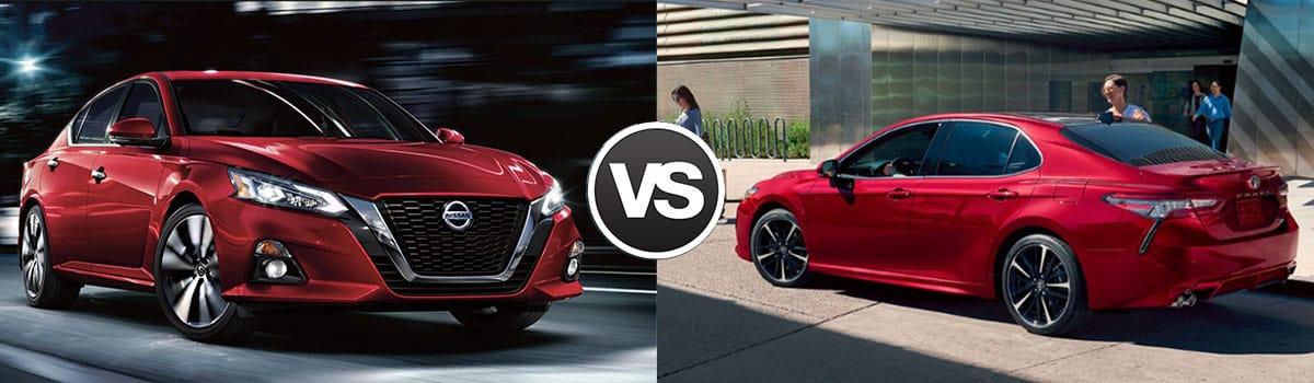 2019 Nissan Altima vs 2019 Toyota Camry
