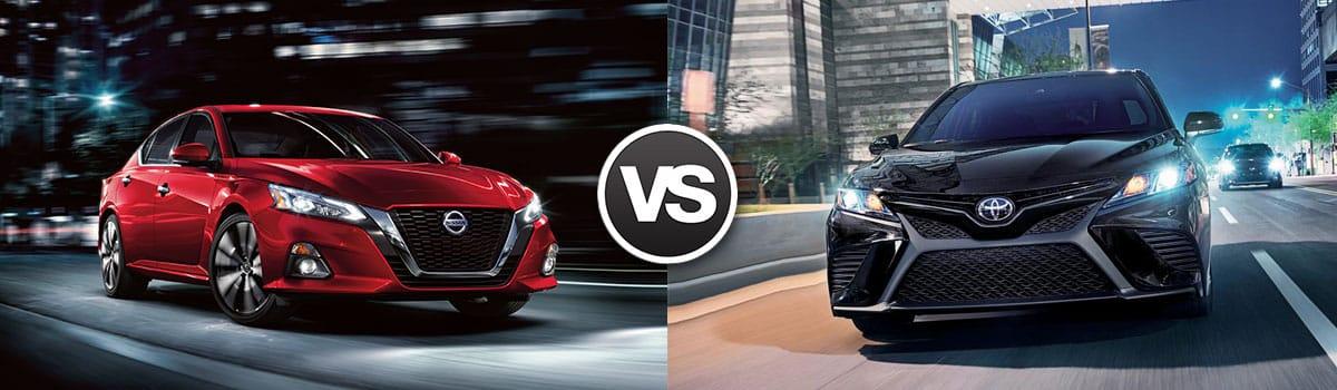 2018 Nissan Altima vs 2018 Toyota Camry