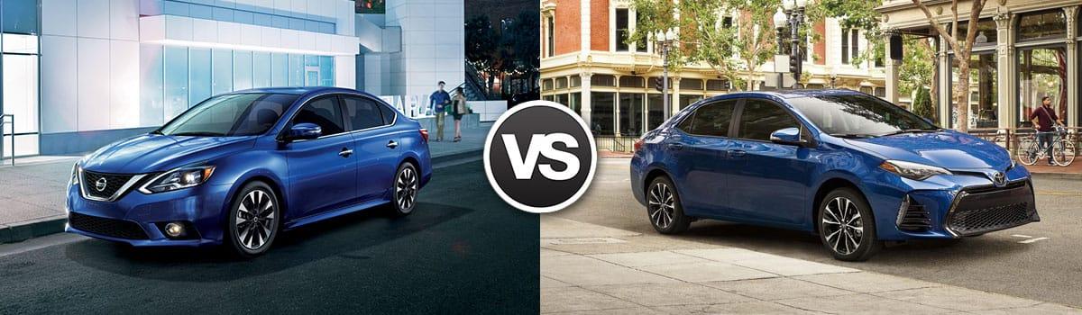 2018 Nissan Sentra vs 2018 Toyota Corolla