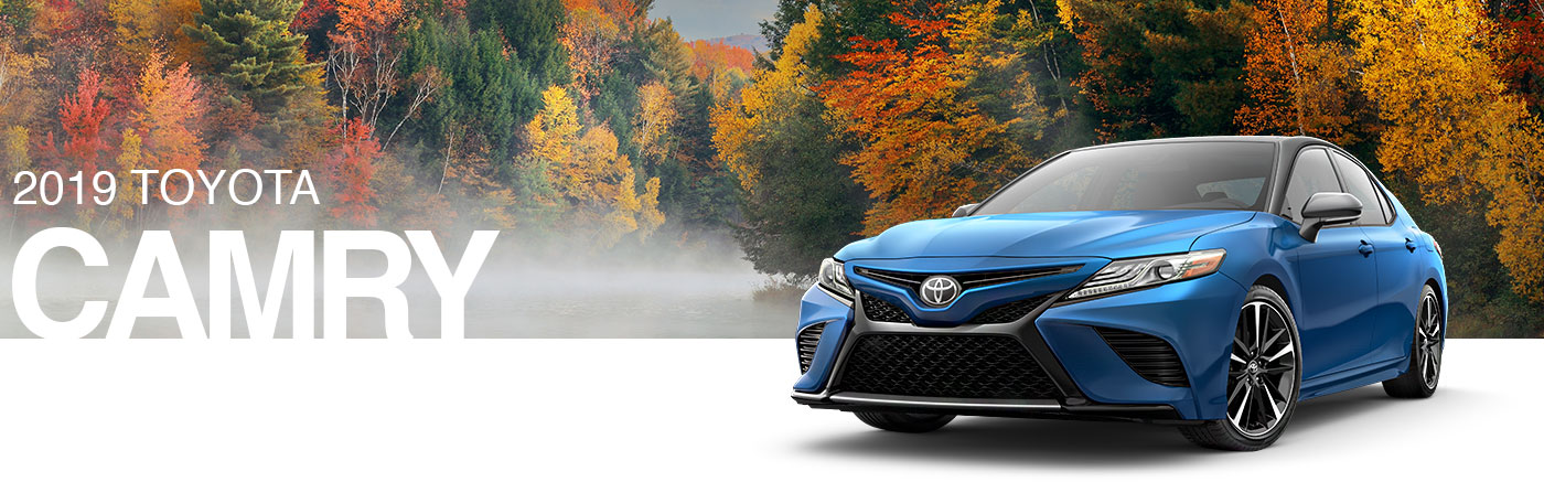 Meet The 2019 Toyota Camry Sedan In Kirkland, WA Near Seattle Today