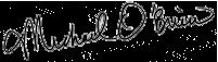 o'brien signature