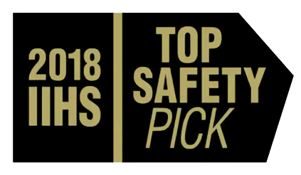 2018 IIHS Top Safety Pick