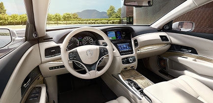 Interior 2019 Acura RLX