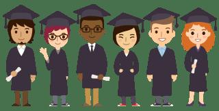 Cartoon Graduates