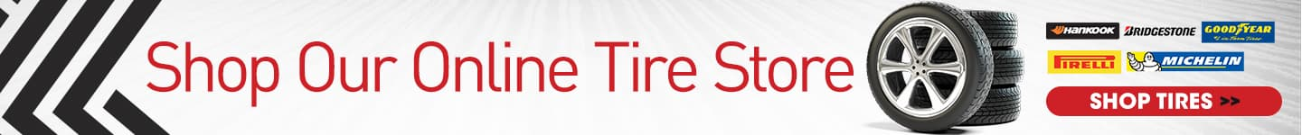 Shop our online tire store
