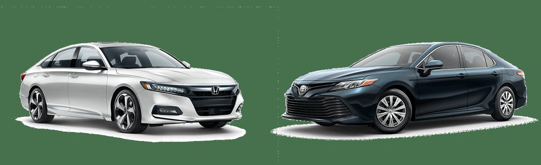 2020 Honda Accord vs. 2020 Toyota Camry In Fishers, Indiana
