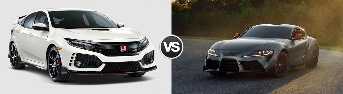 2019 Honda Civic Type R vs 2020 Toyota GR Supra