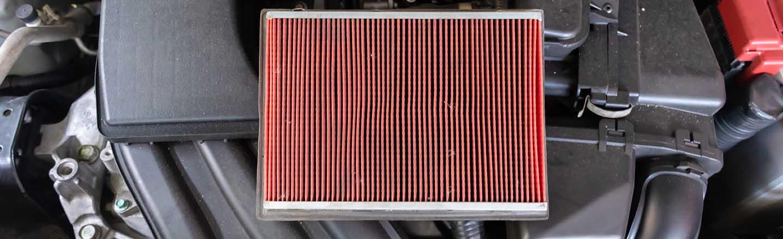 Vehicle Engine Air Filter Services Near Dallas & Mount Pleasant, TX