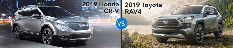 2019 Honda CR-V vs. 2019 Toyota RAV4 in Westerville, OH