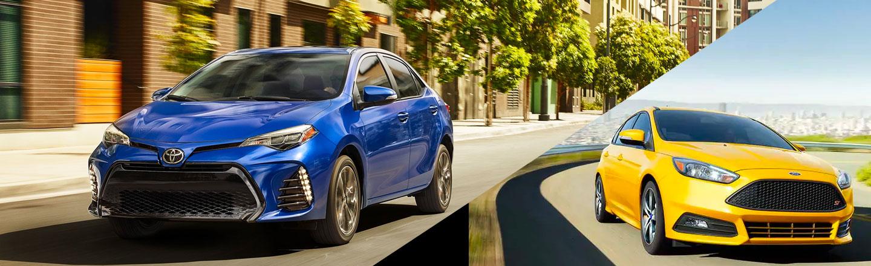 2019 Toyota Corolla vs. 2019 Ford Focus in Columbia, MO