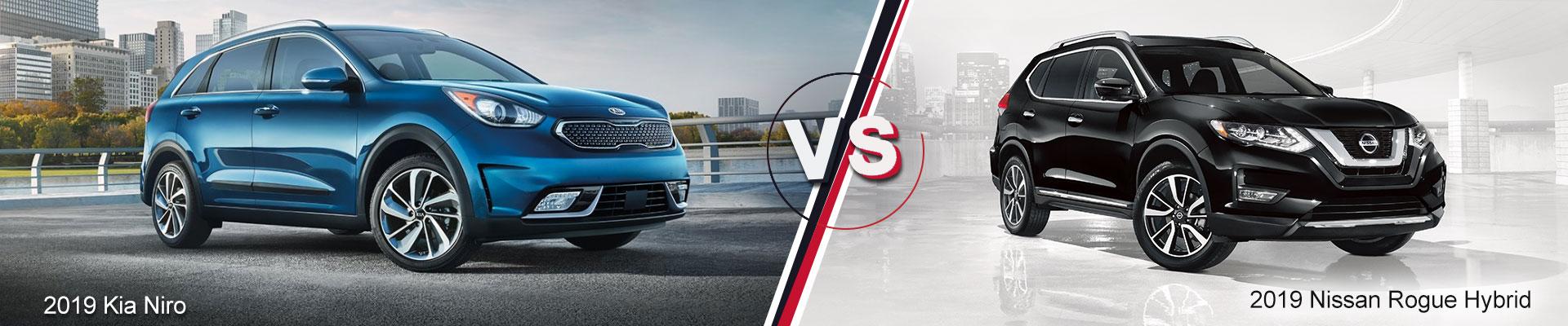 2019 Kia Niro VS. 2019 Nissan Rogue Hybrid Kia of Duluth