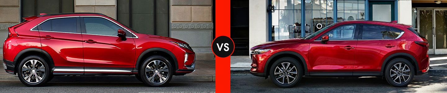 Community Mitsubishi of Bloomington 2019 Eclipse Cross Vs CX-5
