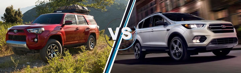 2019 4Runner vs. 2019 Ford Escape