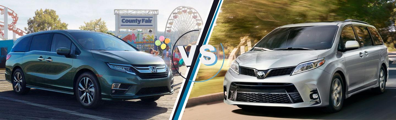Honda Odyssey vs. Toyota Sienna in Midland, Texas